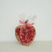 Doce Coração com bombons