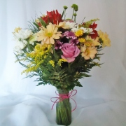 Bouquet Floral no Vaso