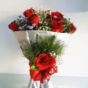 Eterno Amor com Rosas importadas