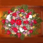 Coroa de Rosas Vermelhas