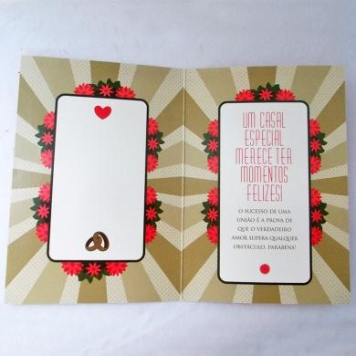 Cartão de Casamento 4