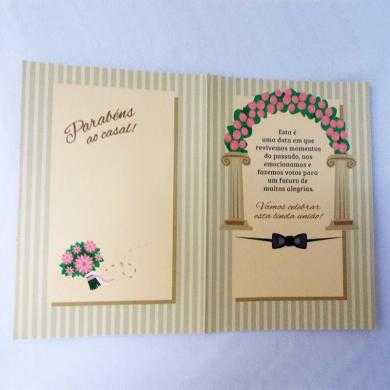Cartão de casamento 2