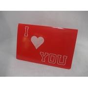 Cartão Y LOVE YOU