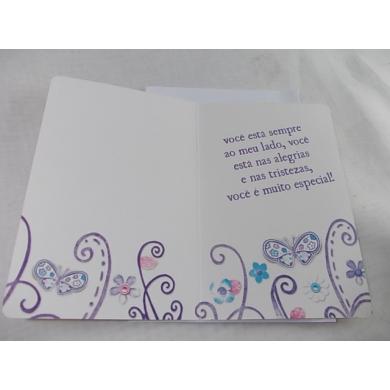 """Cartão """"Sua Amizade é muito importante..."""""""