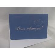 Cartão DEUS ABENÇOE