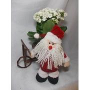 Papai Noel e Triciclo com Calandiva
